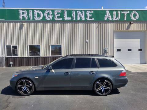 2006 BMW 5 Series for sale at RIDGELINE AUTO in Chubbuck ID