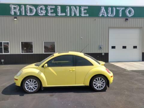2008 Volkswagen New Beetle for sale at RIDGELINE AUTO in Chubbuck ID