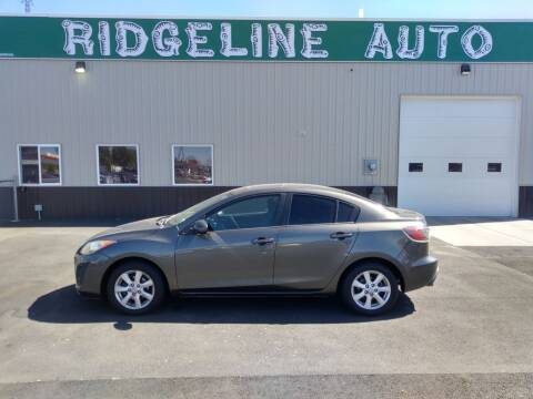 2011 Mazda MAZDA3 for sale at RIDGELINE AUTO in Chubbuck ID