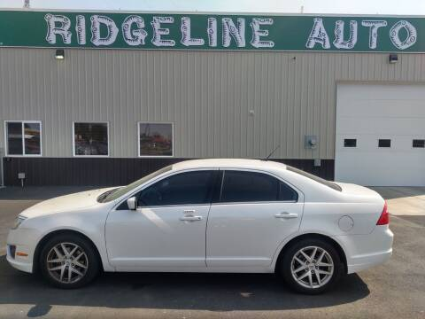 2011 Ford Fusion for sale at RIDGELINE AUTO in Chubbuck ID
