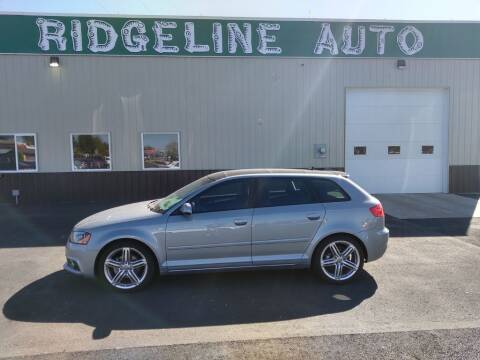 2012 Audi A3 for sale at RIDGELINE AUTO in Chubbuck ID