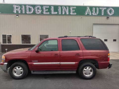 2003 GMC Yukon for sale at RIDGELINE AUTO in Chubbuck ID