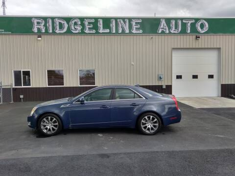 2009 Cadillac CTS for sale at RIDGELINE AUTO in Chubbuck ID