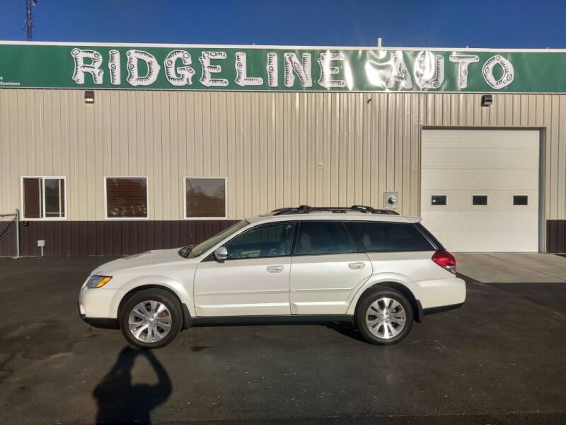 2008 Subaru Outback for sale at RIDGELINE AUTO in Chubbuck ID