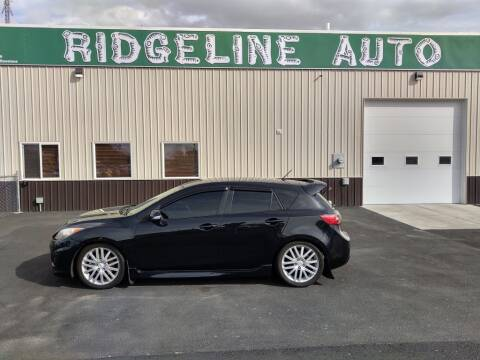 2011 Mazda MAZDASPEED3 for sale at RIDGELINE AUTO in Chubbuck ID