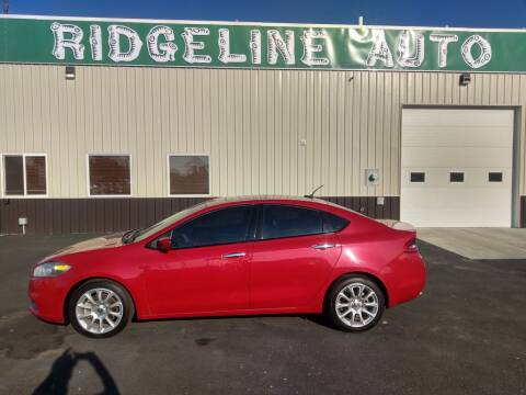 2013 Dodge Dart for sale at RIDGELINE AUTO in Chubbuck ID