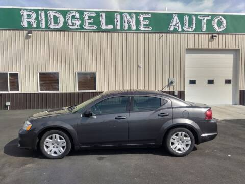 2014 Dodge Avenger for sale at RIDGELINE AUTO in Chubbuck ID