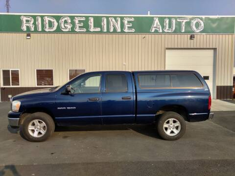 2006 Dodge Ram Pickup 1500 for sale at RIDGELINE AUTO in Chubbuck ID