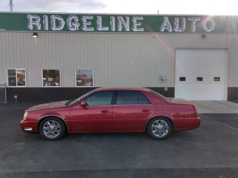 2005 Cadillac DeVille for sale at RIDGELINE AUTO in Chubbuck ID