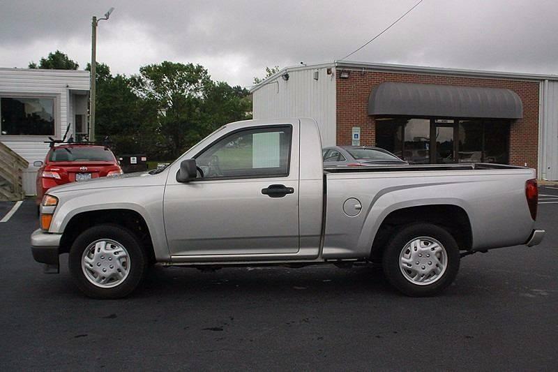 2010 Chevrolet Colorado for sale at Tarheel Auto Sales Inc. in Rocky Mount NC
