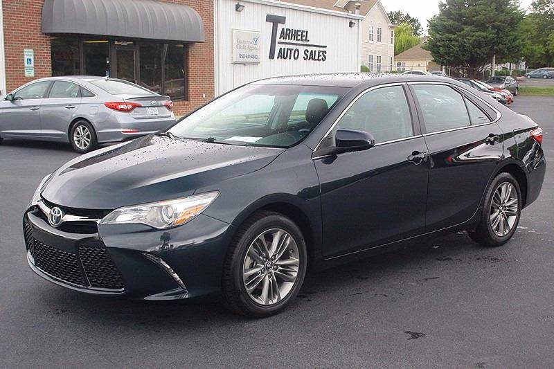 2016 Toyota Camry for sale at Tarheel Auto Sales Inc. in Rocky Mount NC