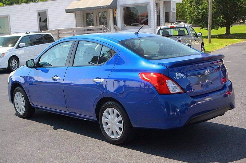 2017 Nissan Versa for sale at Tarheel Auto Sales Inc. in Rocky Mount NC