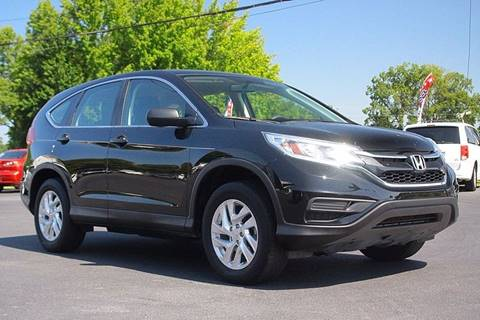 2015 Honda CR-V for sale at Tarheel Auto Sales Inc. in Rocky Mount NC