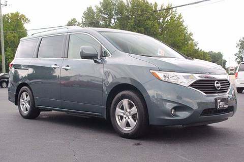 2013 Nissan Quest for sale at Tarheel Auto Sales Inc. in Rocky Mount NC