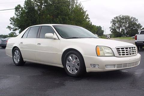 2003 Cadillac DeVille for sale at Tarheel Auto Sales Inc. in Rocky Mount NC