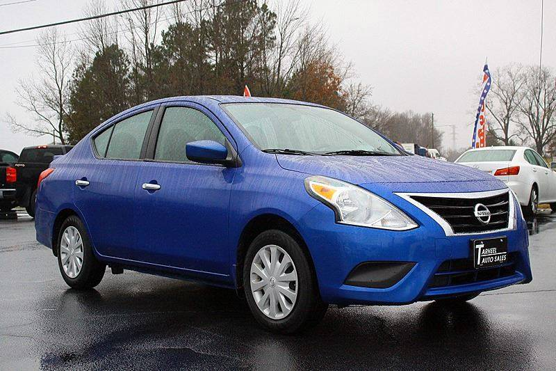 2016 Nissan Versa For Sale At Tarheel Auto Sales Inc. In Rocky Mount NC