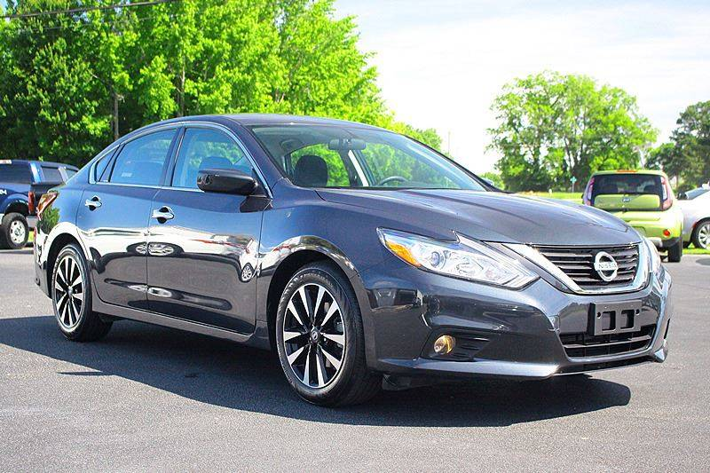 2018 Nissan Altima For Sale At Tarheel Auto Sales Inc. In Rocky Mount NC