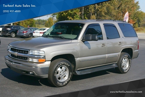 2000 Chevrolet Tahoe for sale in Rocky Mount, NC