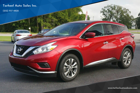 2017 Nissan Murano for sale at Tarheel Auto Sales Inc. in Rocky Mount NC