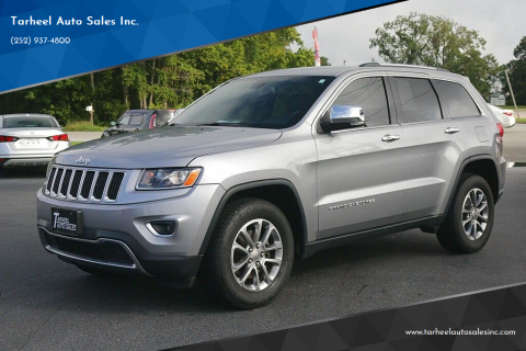 2015 Jeep Grand Cherokee for sale at Tarheel Auto Sales Inc. in Rocky Mount NC