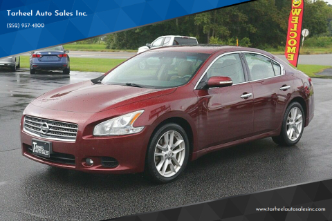 2010 Nissan Maxima for sale at Tarheel Auto Sales Inc. in Rocky Mount NC
