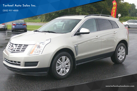 2014 Cadillac SRX for sale at Tarheel Auto Sales Inc. in Rocky Mount NC