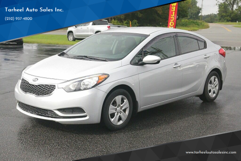 2016 Kia Forte for sale at Tarheel Auto Sales Inc. in Rocky Mount NC