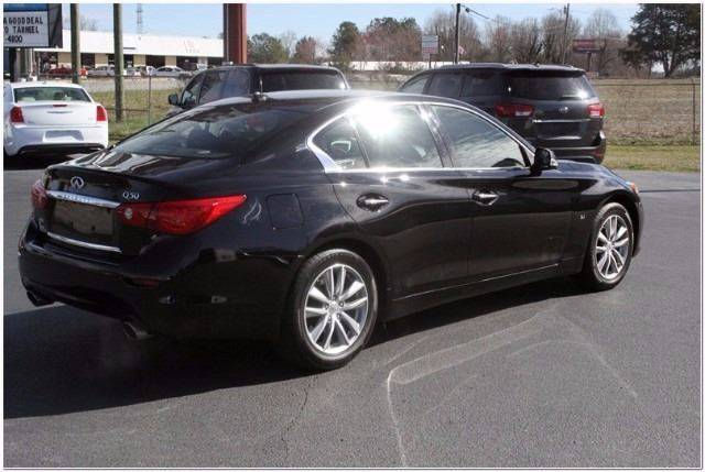 2014 Infiniti Q50 for sale at Tarheel Auto Sales Inc. in Rocky Mount NC