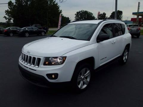2016 Jeep Compass for sale at Tarheel Auto Sales Inc. in Rocky Mount NC