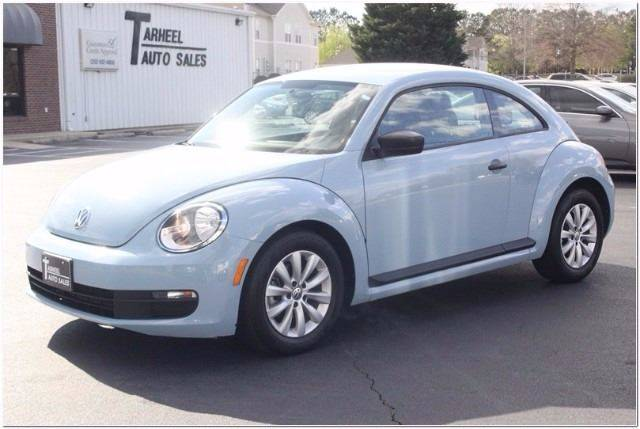 2015 Volkswagen Beetle for sale at Tarheel Auto Sales Inc. in Rocky Mount NC