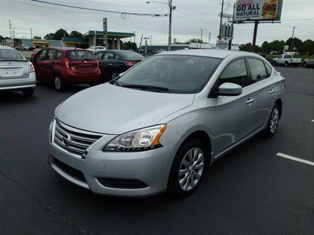 2014 Nissan Sentra for sale at Tarheel Auto Sales Inc. in Rocky Mount NC