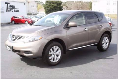 2013 Nissan Murano for sale at Tarheel Auto Sales Inc. in Rocky Mount NC