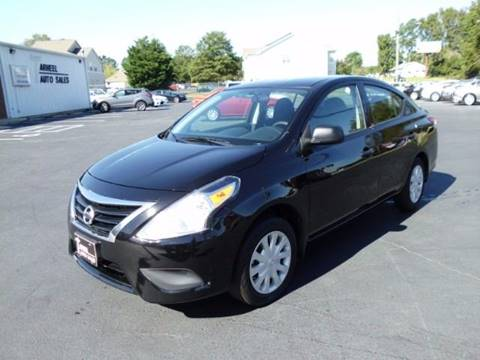 2015 Nissan Versa for sale at Tarheel Auto Sales Inc. in Rocky Mount NC