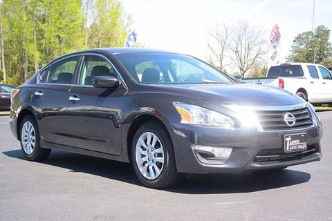 2015 Nissan Altima for sale at Tarheel Auto Sales Inc. in Rocky Mount NC