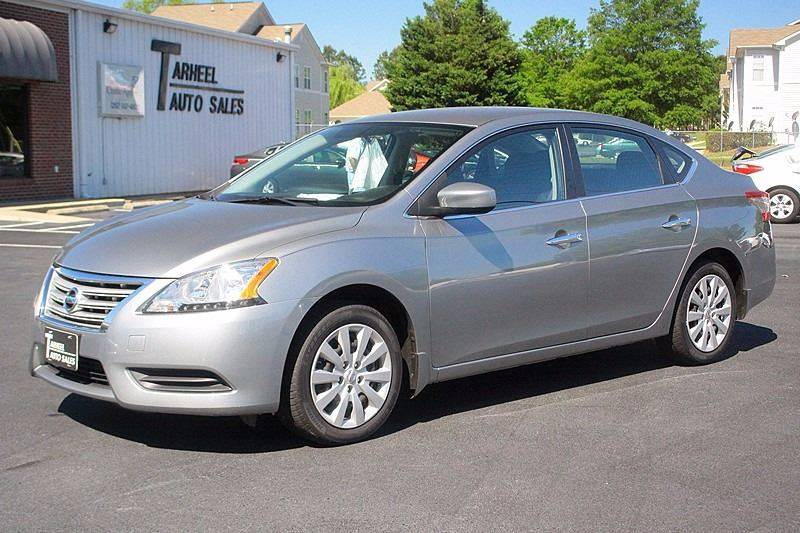 2013 Nissan Sentra for sale at Tarheel Auto Sales Inc. in Rocky Mount NC