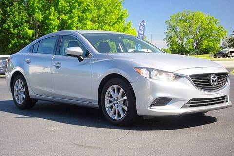 2016 Mazda MAZDA6 for sale at Tarheel Auto Sales Inc. in Rocky Mount NC