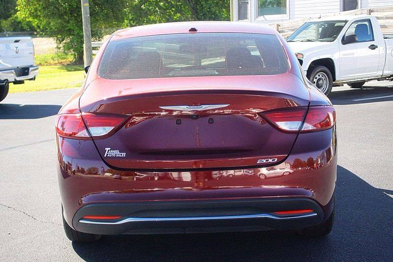 2015 Chrysler 200 for sale at Tarheel Auto Sales Inc. in Rocky Mount NC