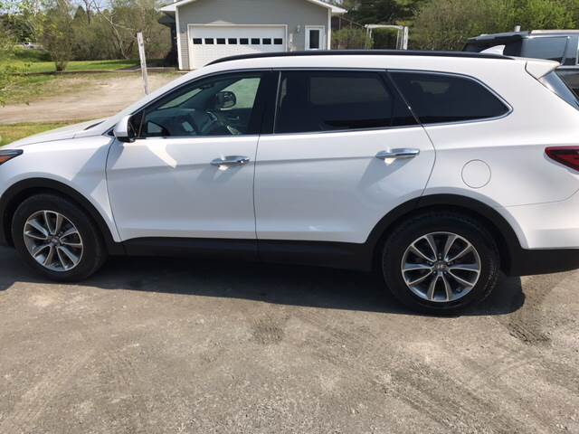 2017 Hyundai Santa Fe for sale at Demers Auto Sales in East Montpelier VT