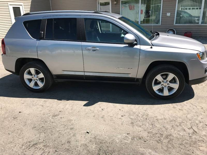2016 Jeep Compass for sale at Demers Auto Sales in East Montpelier VT