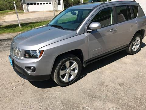 2016 Jeep Compass for sale in East Montpelier, VT