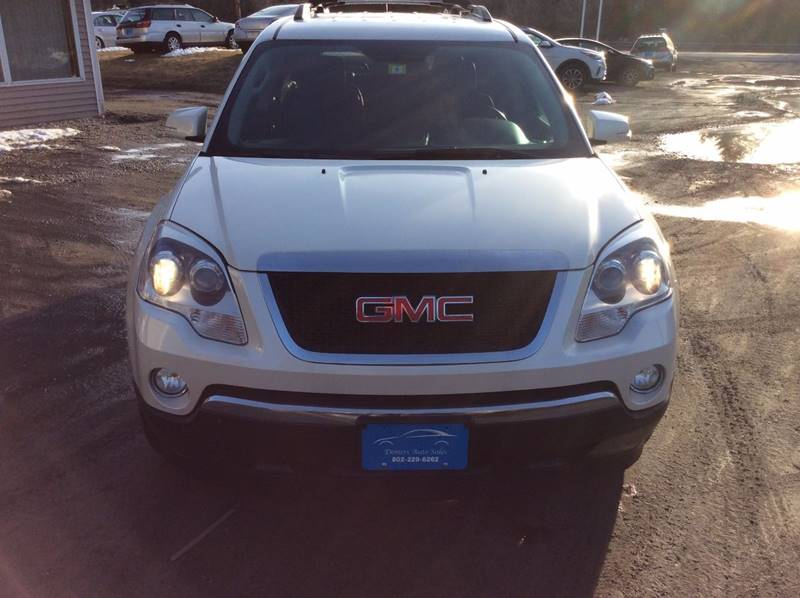 2011 GMC Acadia for sale at Demers Auto Sales in East Montpelier VT