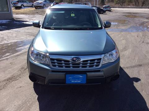 2013 Subaru Forester for sale at Demers Auto Sales in East Montpelier VT