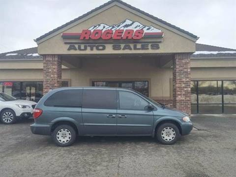 2002 Chrysler Town and Country for sale in Ogden, UT