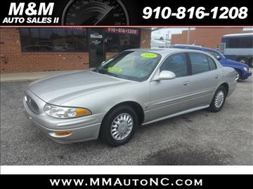 2005 Buick LeSabre for sale at M and M Auto Sales II in Lumberton NC