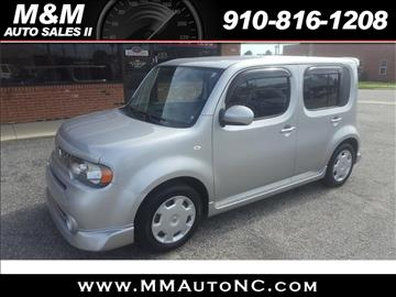 2009 Nissan cube for sale at M and M Auto Sales II in Lumberton NC