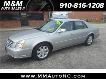 2006 Cadillac DTS for sale at M and M Auto Sales II in Lumberton NC
