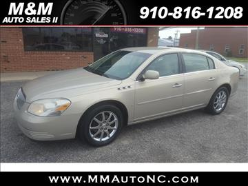 2008 Buick Lucerne for sale at M and M Auto Sales II in Lumberton NC