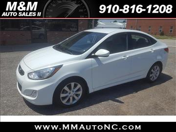 2013 Hyundai Accent for sale at M and M Auto Sales II in Lumberton NC