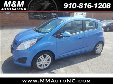 2014 Chevrolet Spark for sale at M and M Auto Sales II in Lumberton NC