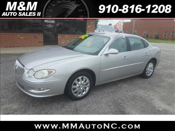 2008 Buick LaCrosse for sale at M and M Auto Sales II in Lumberton NC